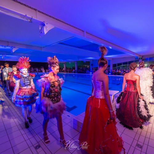 Défilé de mode pendant le Festival du film des Villes Sœurs