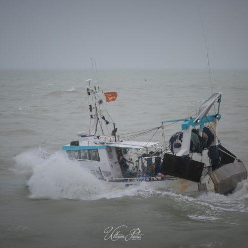 Sale temps pour la pêche